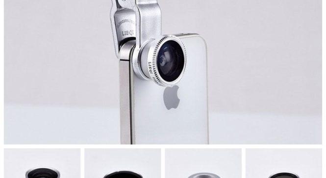 อุปกรณ์เสริมกล้องมือถือ Lieqi LQ-008