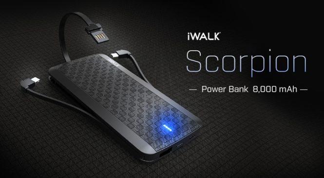 ดีไซน์สวย Power Bank รุ่น Scorpion